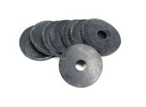 Rubber Washer K&N 81-0161 (8) RBR WASH 5/16 HOLE SINGLE